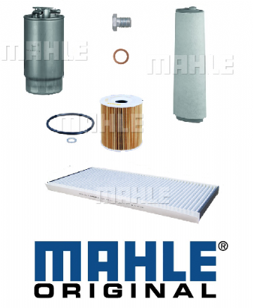 KIT111M Mahle Original Filter Kit Range Rover L322 3.0 Td6